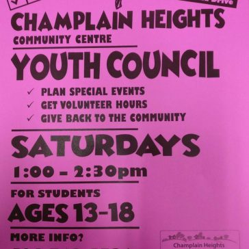 Champlain Heights Youth Council