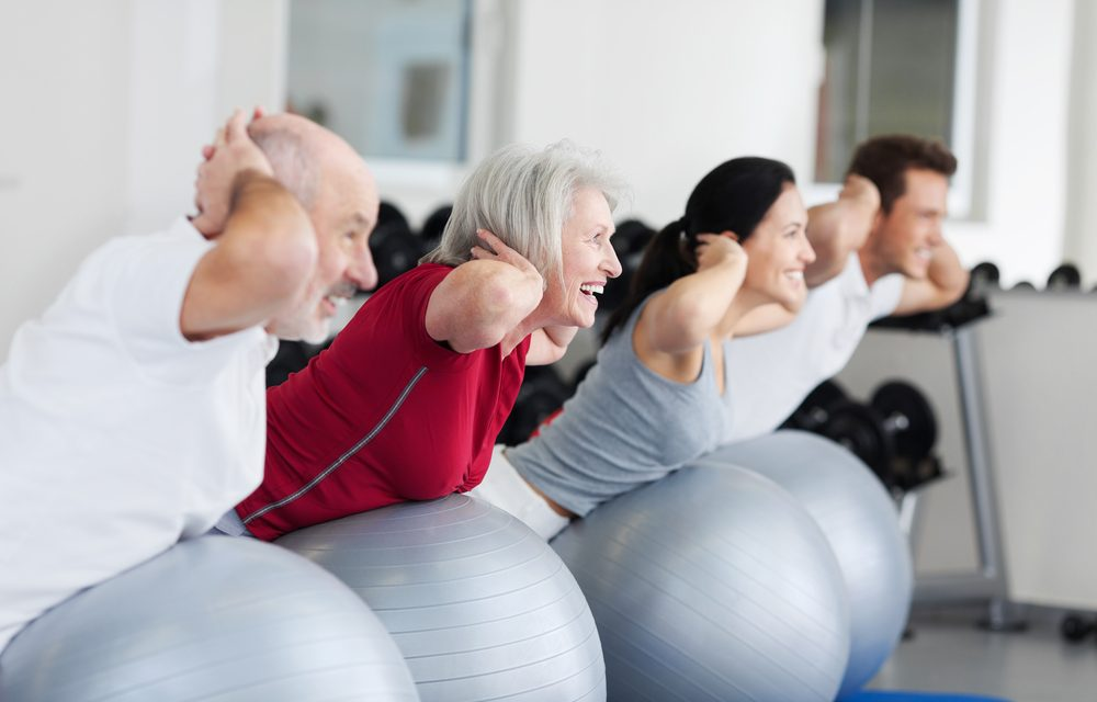 In Person Group Fitness is back!