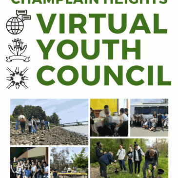 For youth looking for volunteer opportunities: Welcome to Champlain Heights Youth Council! We're a youth-led community group that plans a bunch of fun activities and events to benefit the members of our neighborhood. We're inviting all youth (Grade 8 and up) to join us on our event planning adventures! Since Champlain Heights is so close to plenty of parks and wildlife, we love helping out with sustainable initiatives. We'll be meeting completely online this year, but we'll still have plenty of fun creating virtual and safe events. As a part of the Champlain Heights Community Centre, we'll be bringing a bunch of fantastic events to our surrounding community. You'll also be making volunteer hours along the way for your efforts. We will most likely be meeting on Facebook Rooms (or Zoom), on Saturdays from 9:00-10:00 pm (evenings). Fill in your info here to get involved in this amazing and fun cause! https://docs.google.com/forms/d/e/1FAIpQLSfD59FZwhO3uyG55dYJp-UmCIPehGcKCxC0vGsKTp3V2lgB7w/viewform?usp=sf_link Email: newgen2.0b@gmail.com (Council Chair) for any questions or concerns. (After signing up, your name, birthday, pronouns, and email will be privately shared on our group contact list)