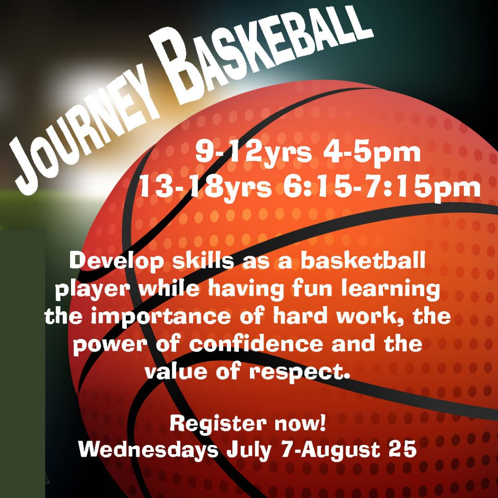 Journey Basketball - (13-18yrs) Wednesdays July 7-August 25 5:15-6:15pm $112.00 https://ca.apm.activecommunities.com/vancouver/Activity_Search/journey-basketball-13-18yrs/335878 Journey Basketball - (9-12yrs) Wednesdays July 7-August 25 4:00-5:00pm $112.00 https://ca.apm.activecommunities.com/vancouver/Activity_Search/journey-basketball-9-12yrs/335817 Journey Basketball is designed to provide children & youth of all abilities with organized and skill appropriate basketball training programs. We aim to help youth develop their skills as a basketball player while also showing them the importance of hard work, the power of confidence and the value of respect. Participants are encouraged to bring their own usable basketball if they have one, but will be provided a basketball for the session if they don't. The nature of the activity is such that you may interact with other people who are considered to be in good health, continuous physical distance between other people cannot be guaranteed, and, by participating in the activity, you are at risk of being infected by a pathogen, including but not limited to SARS-COV-2. SARS-COV-2, which causes the disease COVID-19, may exacerbate other health issues and is the cause of an ongoing global pandemic. SARS-COV-2 is highly communicable and dangerous. If you become infected with SARS-COV2, you may transmit it to other people even if you are not exhibiting symptoms of illness. Face masks are mandatory in our facility at all time for those over the age of 12. #activechamplain #youthbasketballvancouver #summer2021 #kidscamps